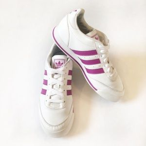 Adidas Originals Ortholite Purple Stripe Sneakers